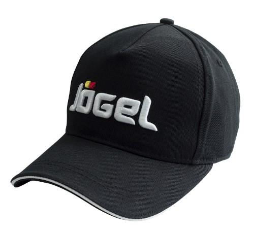Бейсболка Jogel JC 1701 061, черная/белая,