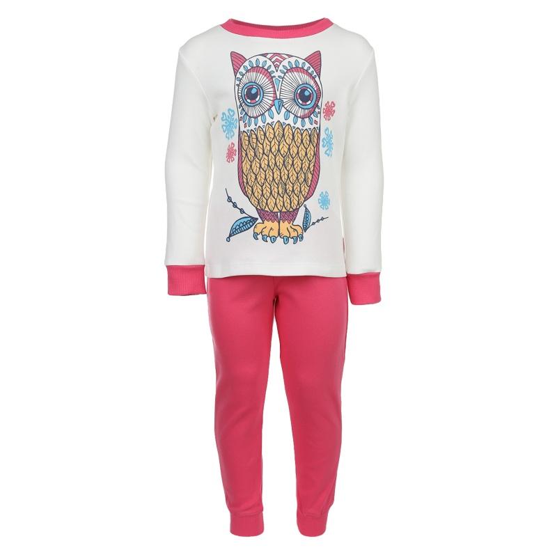 Пижама детская Bembi, цв. белый; розовый р.104 700, ПЖ39