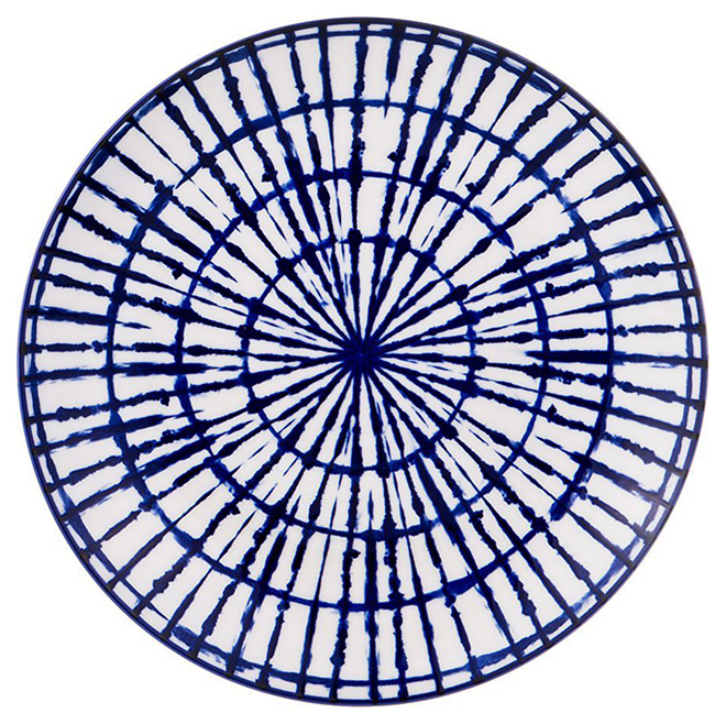 Тарелка Agness 585 094 Белый Синий