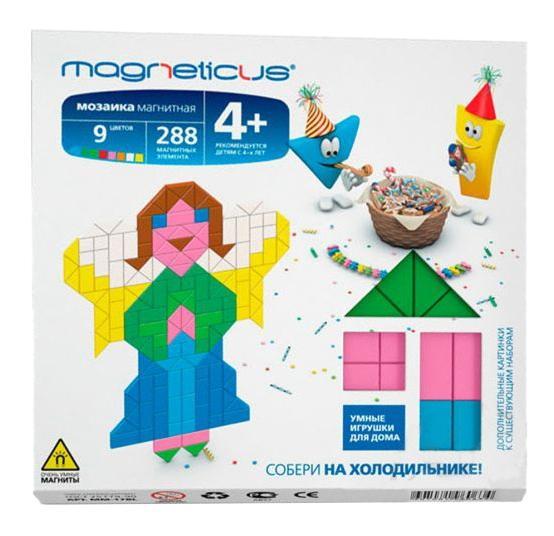 Купить МидиМозаика Magneticus Ангелы, 288 элементов, 9 цветов, Мозаики