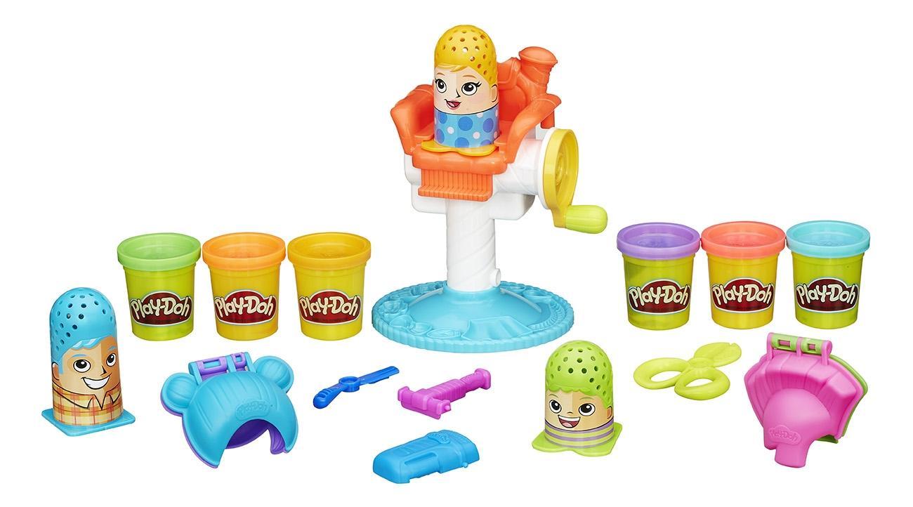 Купить Сумасшедшие прически, Набор для лепки из пластилина play-doh игровой сумасшедшие прически b1155, Лепка