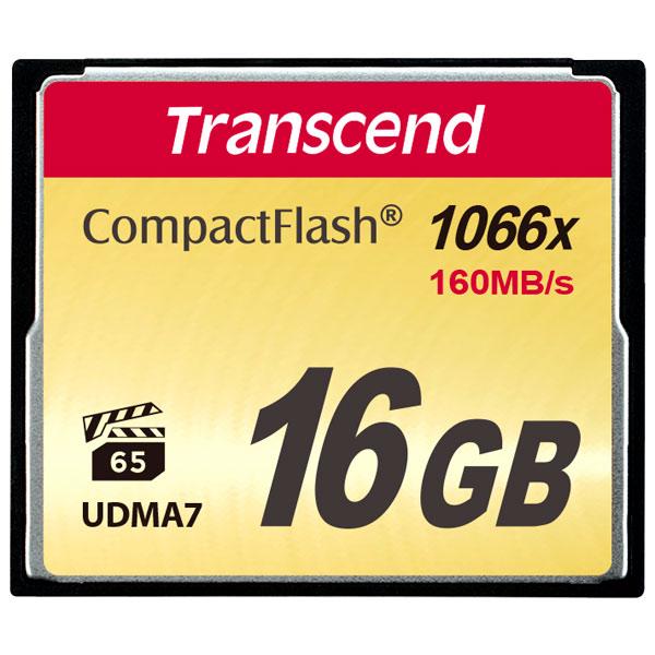 Карта памяти Transcend Compact Flash Ultimate TS16GCF1000