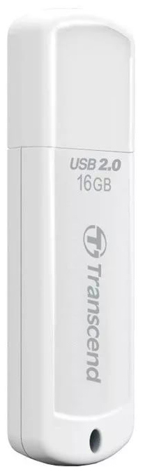 USB-флешка Transcend JetFlash 370 16GB White (TS16GJF370) фото