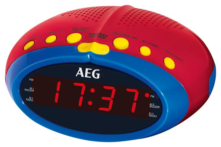 Радио часы AEG MRC 4143 Bunt