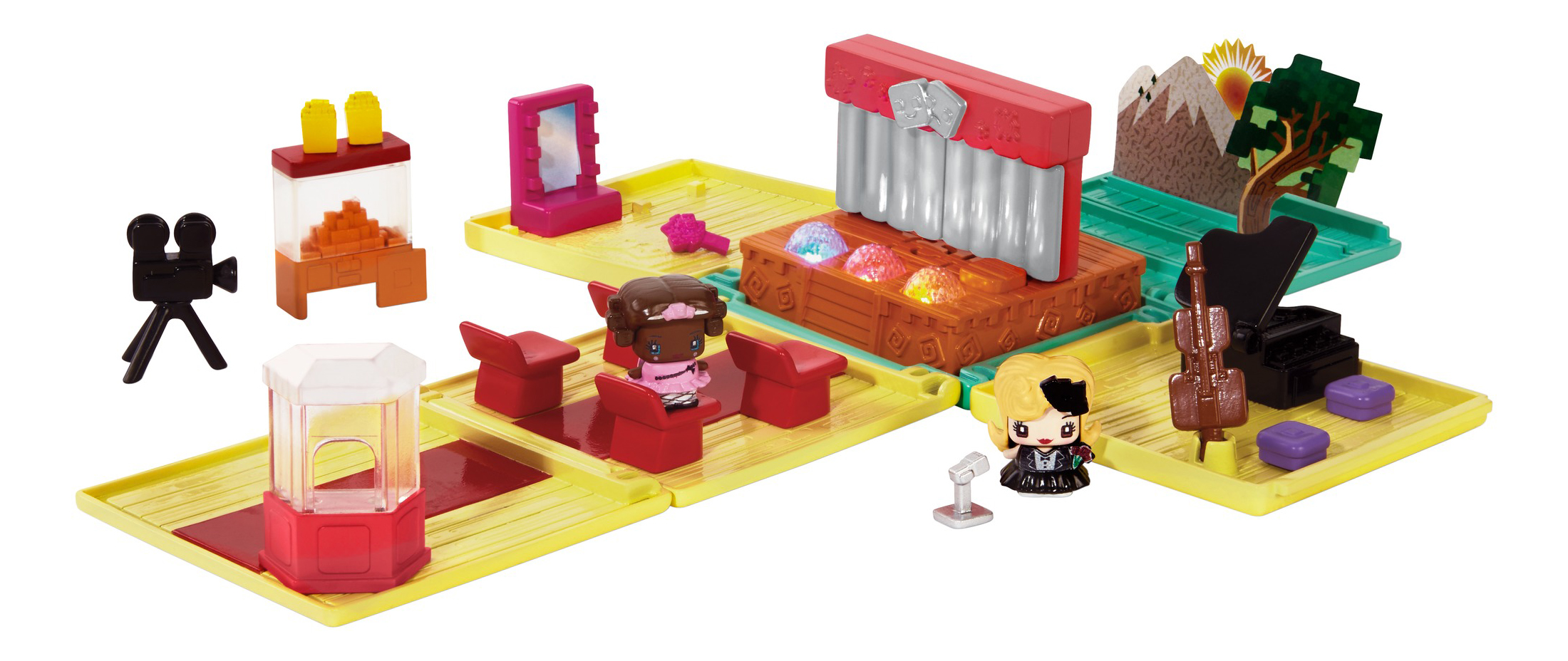 Купить Игровой набор My Mini Mixieq'S™ Игровой набор «музыкальная студия» +2 фигурки DXD61,
