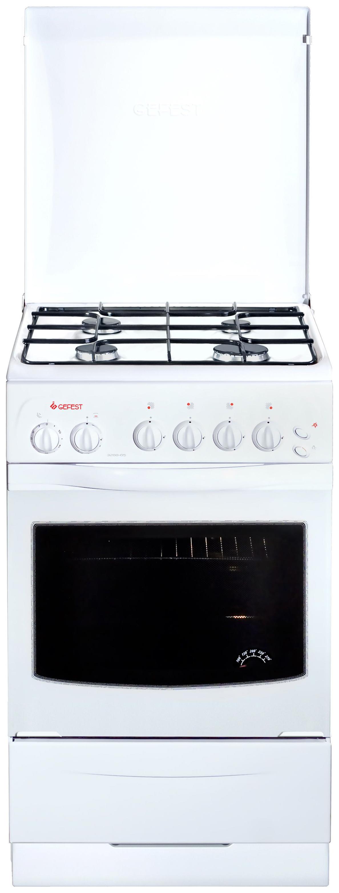 Газовая плита GEFEST ПГ 3200-05 White фото