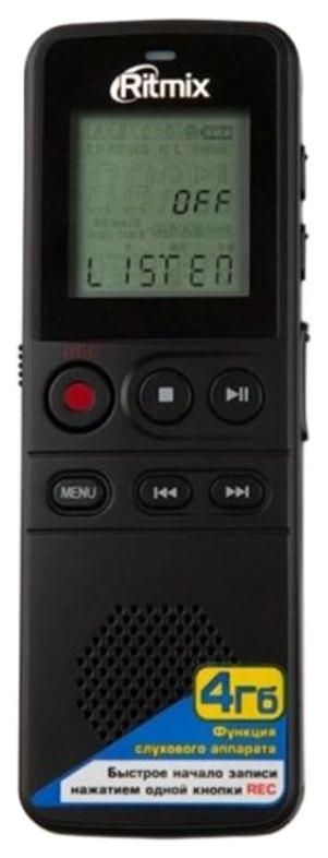 Диктофон Ritmix RR-810 4GB Черный