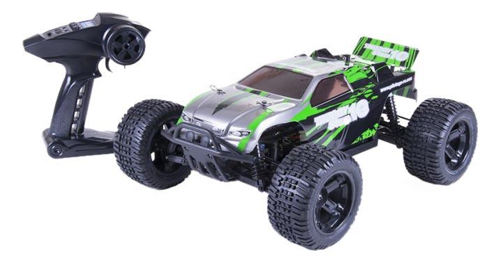 Машинка р.у. PILOTAGE Truggy Stem серо-зеленый (RC17522)