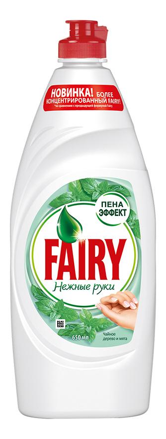 Средство для мытья посуды Fairy чайное дерево