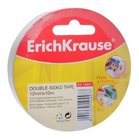 Двусторонняя клейкая лента для автомобиля Erich Krause,12мм х 10м фото