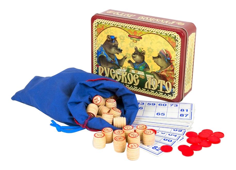 Настольная игра Десятое Королевство Русское лото - Три медведя
