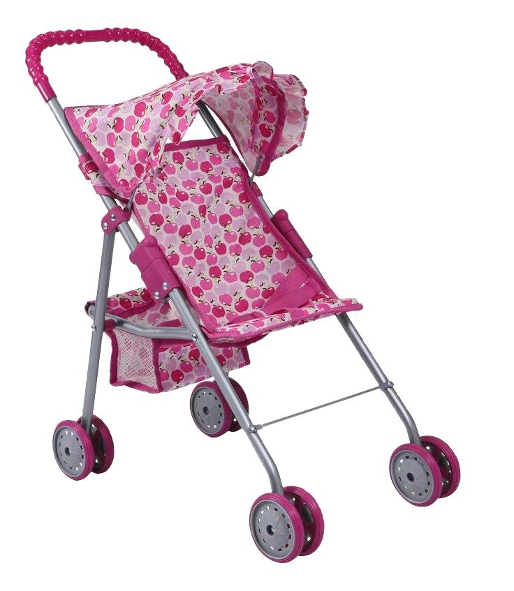 Коляска для куклы Коляска для куклы розовая