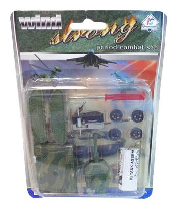 Конструктор пластиковый Собери танк своими руками