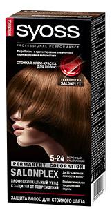 Краска для волос Syoss 5 24 Морозный каштановый