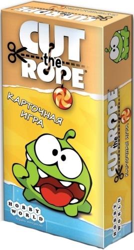 Комикс Настольная игра Hobby World Cut The Rope. Карточная игра фото