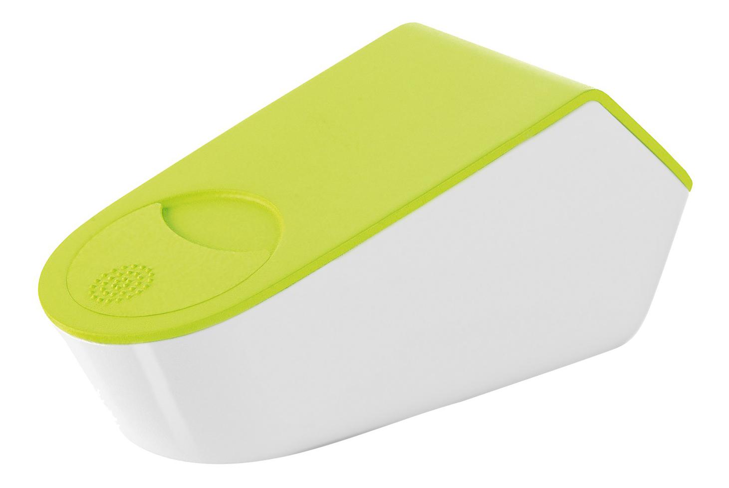 KITCHEN Терка с контейнером, пластик, светло/ зеленый