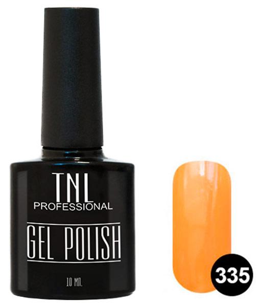 Гель-лак для ногтей TNL Professional Gel Polish Classic 335 Оранжевое настроение 10 мл