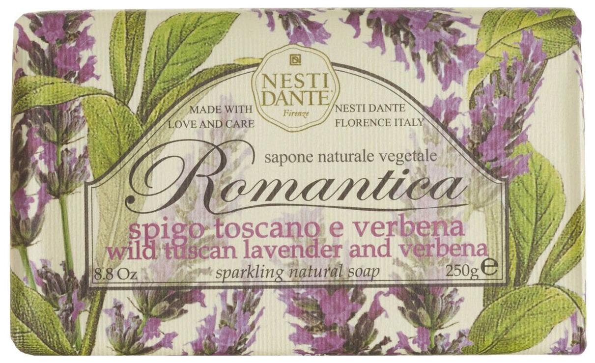 Косметическое мыло Nesti Dante Романтика Тосканская лаванда и вербена