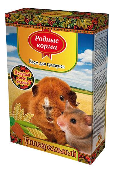 Корм для грызунов Родные корма Универсальный 0.4 кг 1 шт