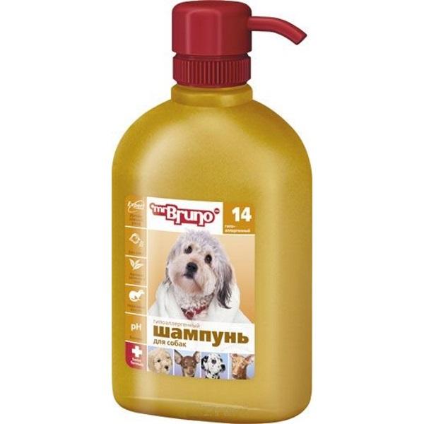 Шампунь-бальзам для собак Mr.Bruno №14 Гипоаллергенный, 350 мл