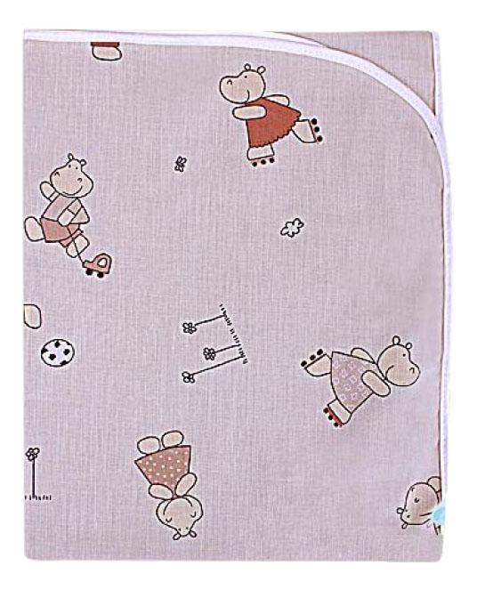 Пеленки для детей Мотылек К69 бежевая