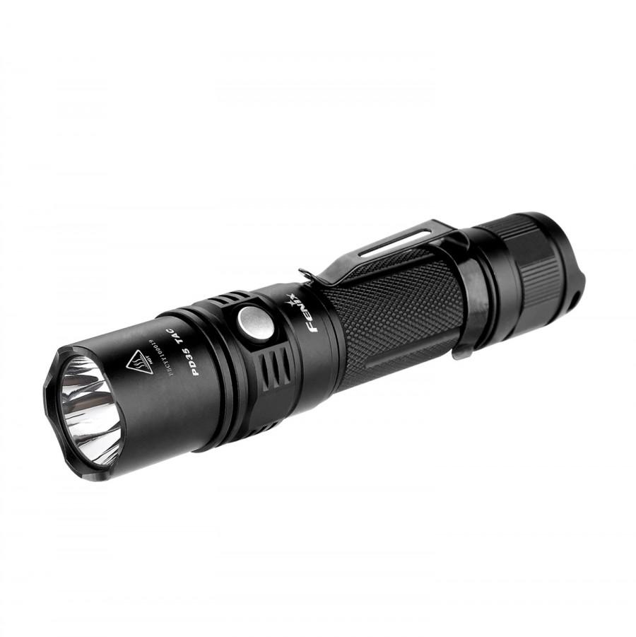 Туристический фонарь Fenix PD35 TAC черный, 6 режимов PD35 TAC по цене 5 750