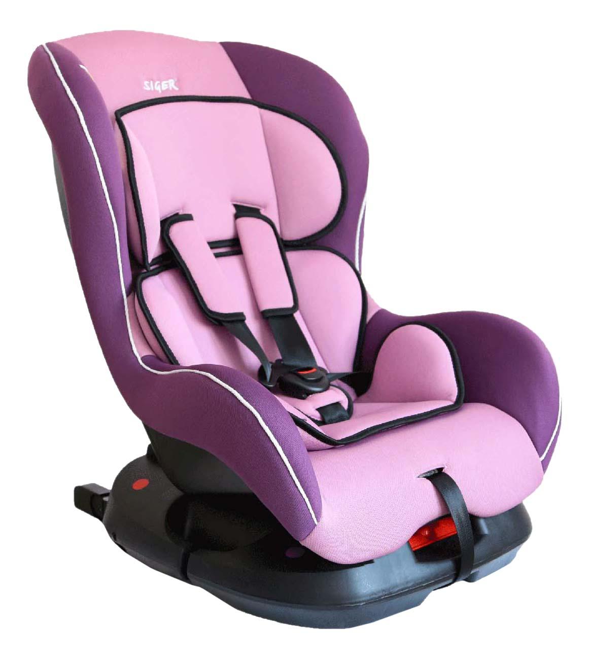 Автокресло Наутилус Isofix фиолетовое до 18 кг SIGER KRES0196