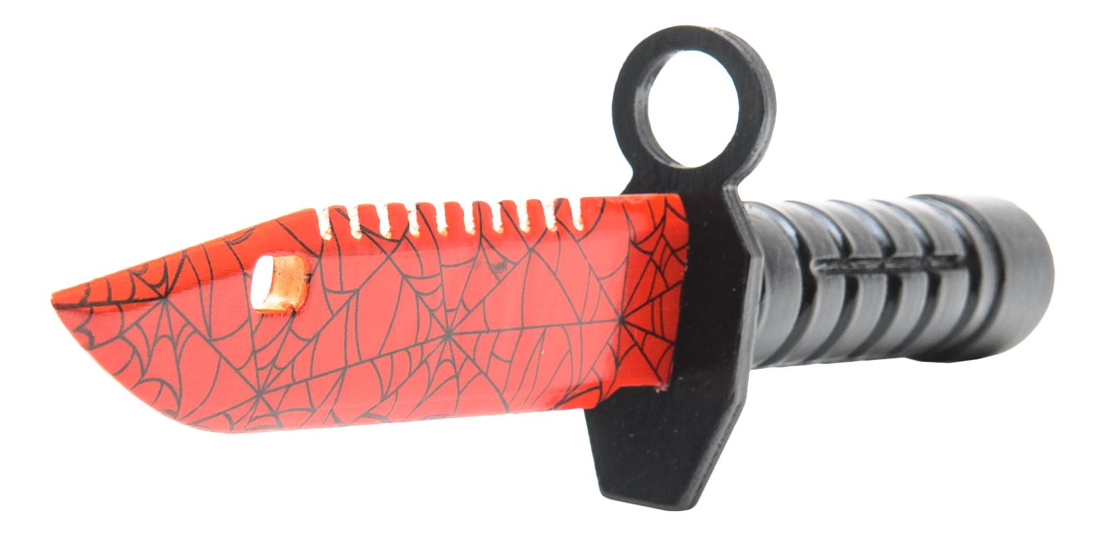 Байонет MASKBRO Кровавая паутина, из дерева фото