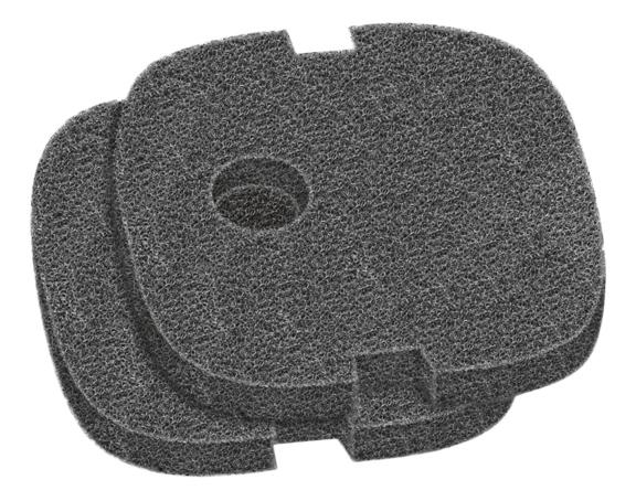 Губка для внешнего фильтра Sera Filter Sponge для 130/130+UV черная, поролон, 2 шт, 20 г фото