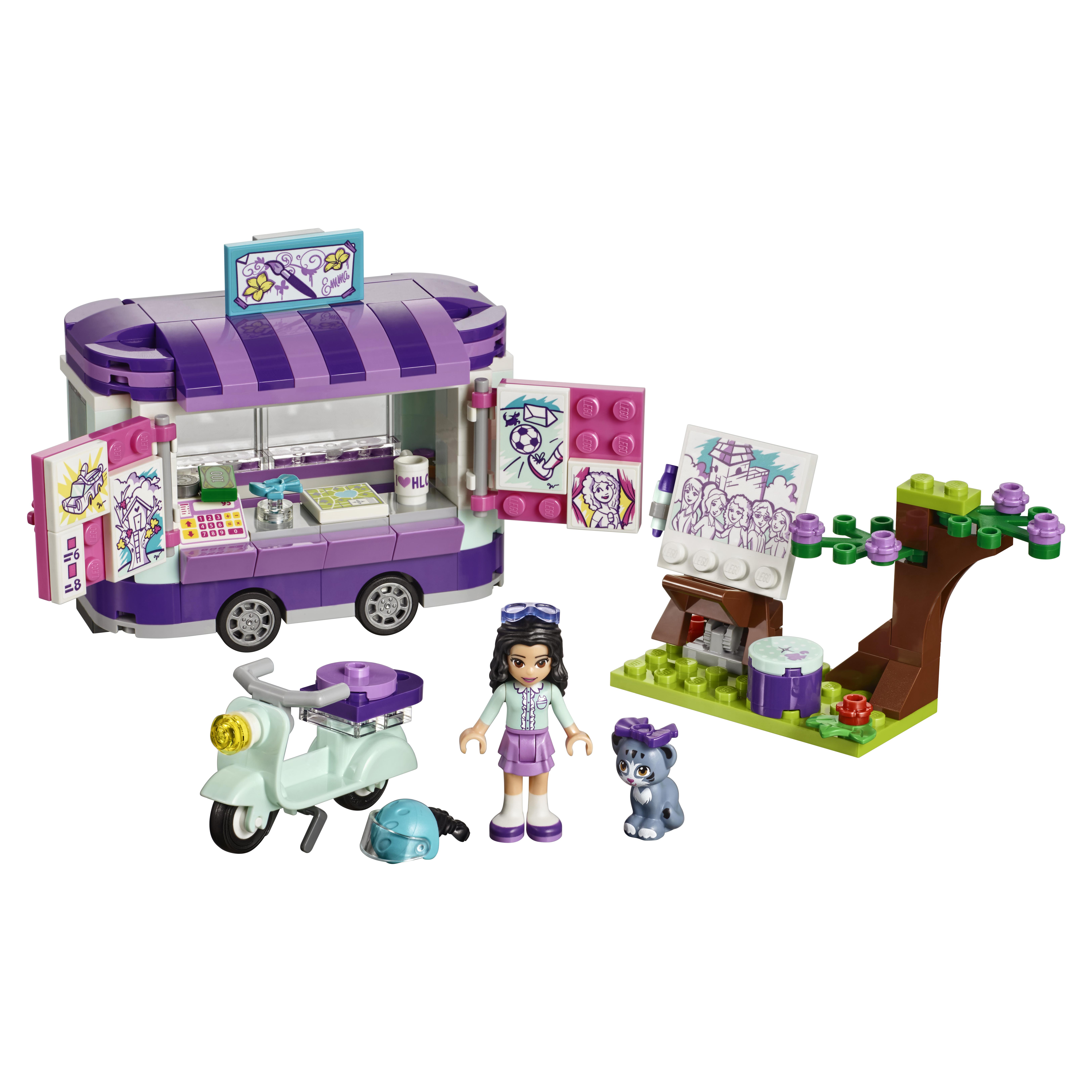 Конструктор LEGO Friends Передвижная творческая мастерская Эммы (41332)