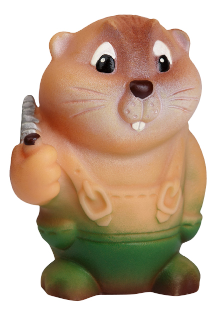 Купить Игрушка для купания ОГОНЕК Бобр лесоруб, Огонек, Игрушки для купания малыша