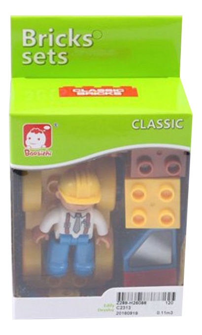 Купить Конструктор bricks sets стройка Г82972, Конструктор Bricks Sets Стройка Gratwest Г82972, Конструкторы пластмассовые