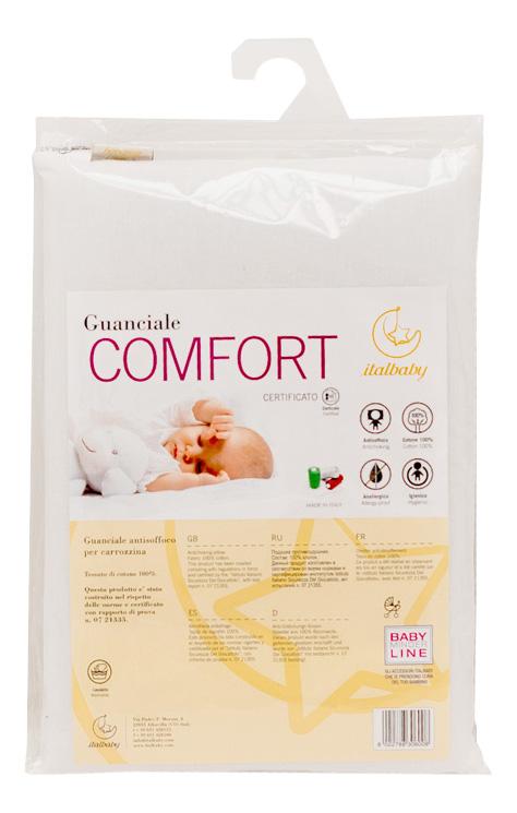 Детская подушка Comfort белая Italbaby