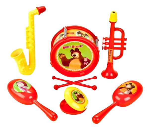 Купить Набор музыкальных инструментов Маша и Медведь Играем вместе B1582336-R, Играем Вместе, Детские музыкальные инструменты