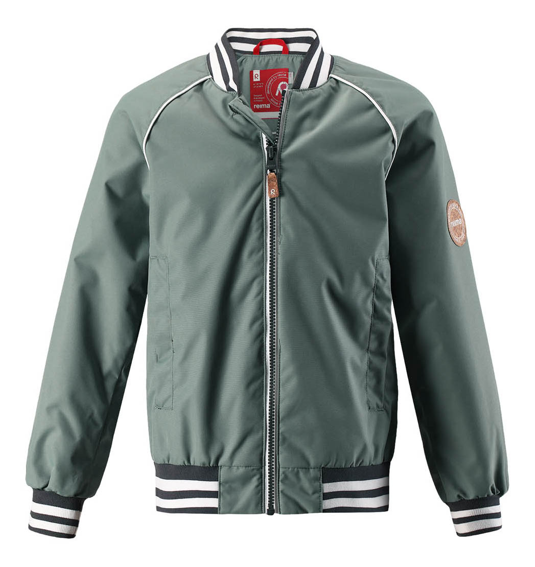 Куртка детская Reima Aarre р.128 зеленая