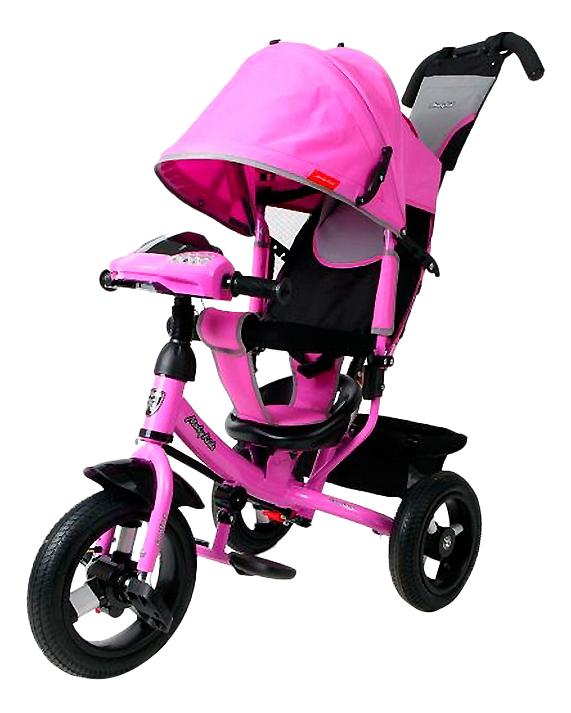 Велосипед Moby Kids Comfort Air Car лиловый 641086