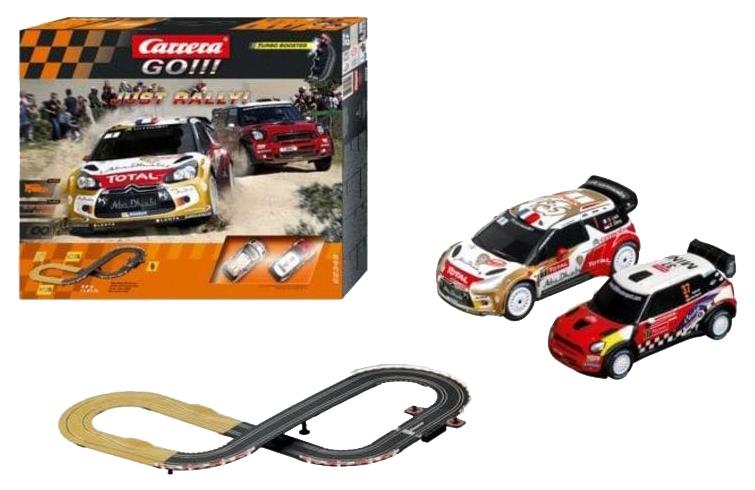 Купить Автотрек Carrera Just Rally! GO!! 97886, Детские автотреки