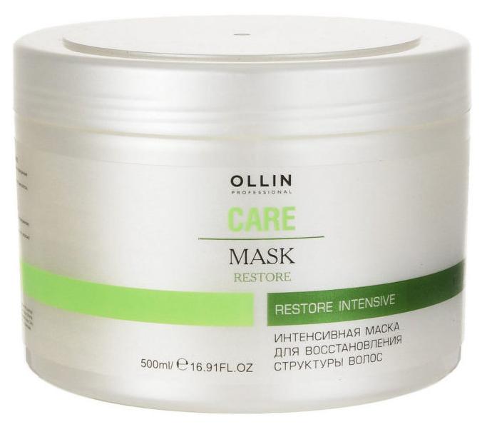 Купить Маска для волос Ollin Professional Intensive Mask 500 мл, Для восстановления структуры волос
