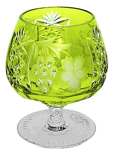 Бокал Ajka Crystal 1/reseda/64574 Зеленый