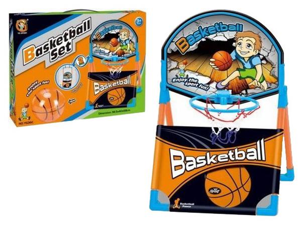Баскетбольный набор YG Sport Баскетбольное кольцо и мяч