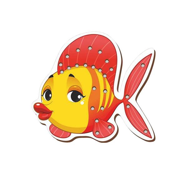 Купить Развивающая игрушка Сибирский Сувенир Рыбка, Сибирский сувенир, Шнуровки для детей