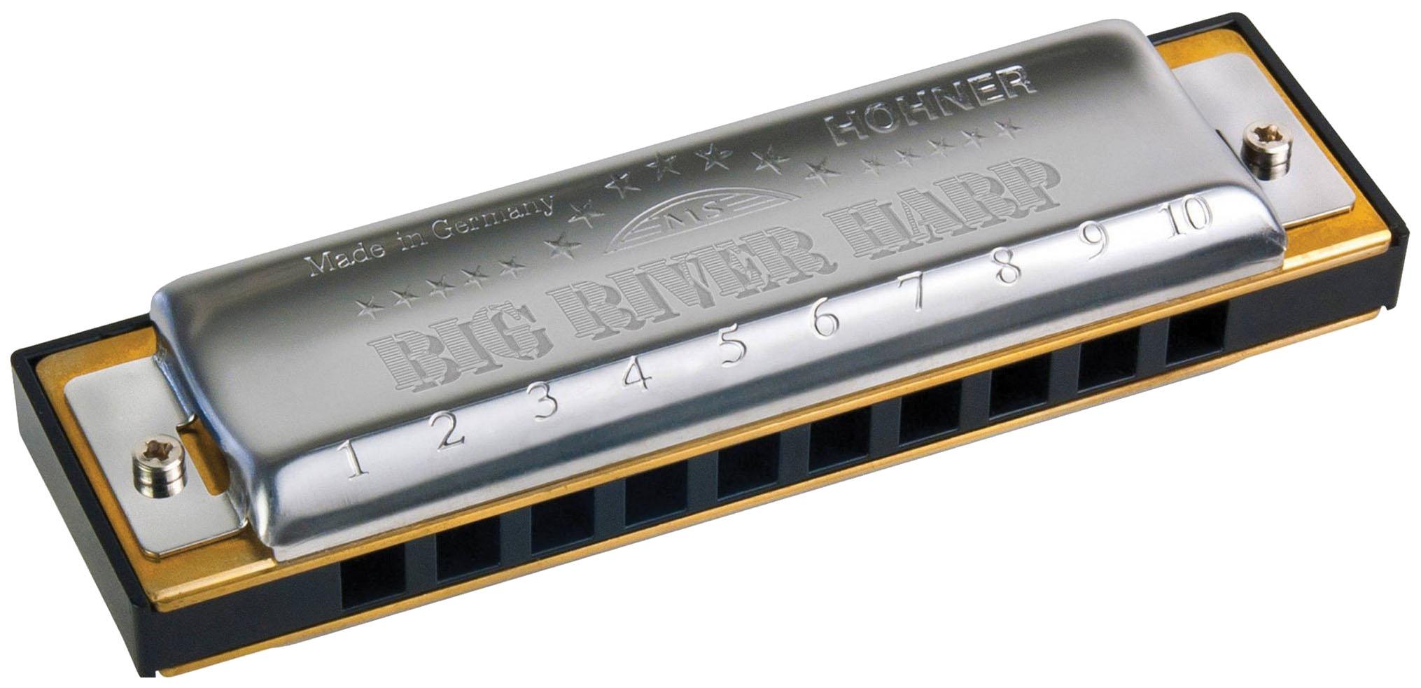 Губная гармоника диатоническая HOHNER Big river harp 590/20 Ab
