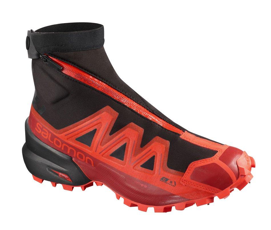 Ботинки Salomon Salomon Snowspike CS WP, black/racing