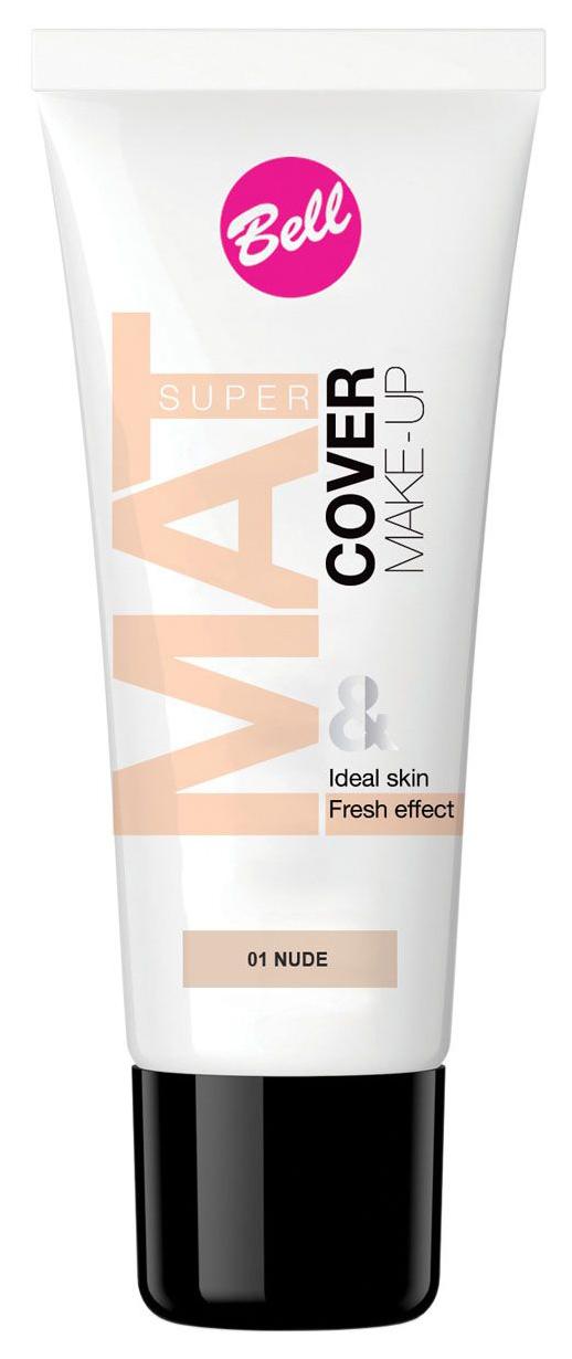 Тональный крем Bell Super Mat Cover Make-up Foundation 01 Nude 30 мл