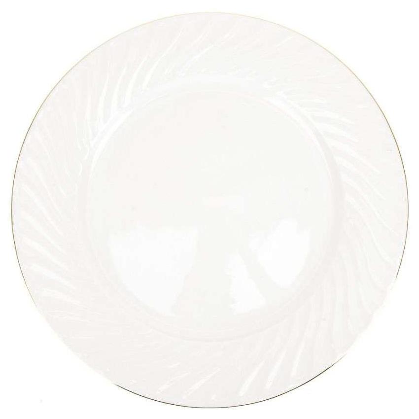 Блюдо Best Home Porcelain Белый Лебедь (3х31 см)