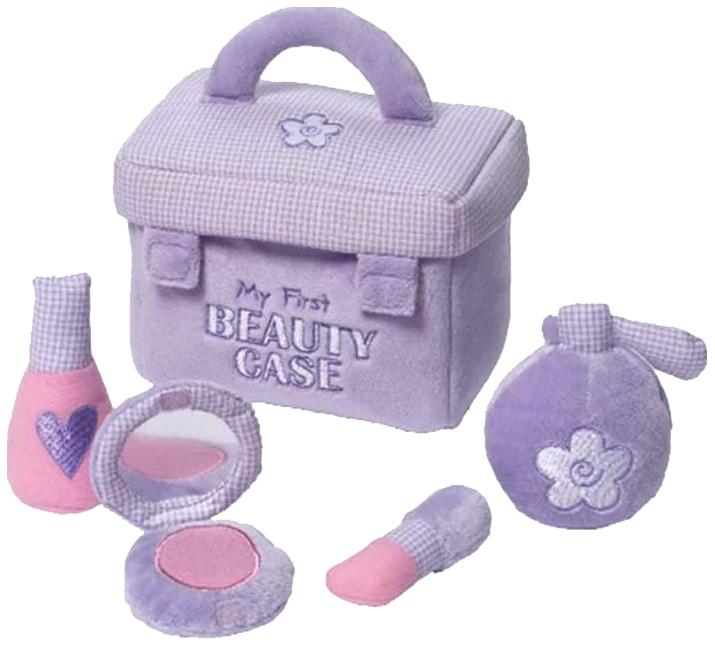 Купить 243540, Игрушка мягкая (My First Beauty Case Play Set, 17, 5 см) Gund, Игровые наборы