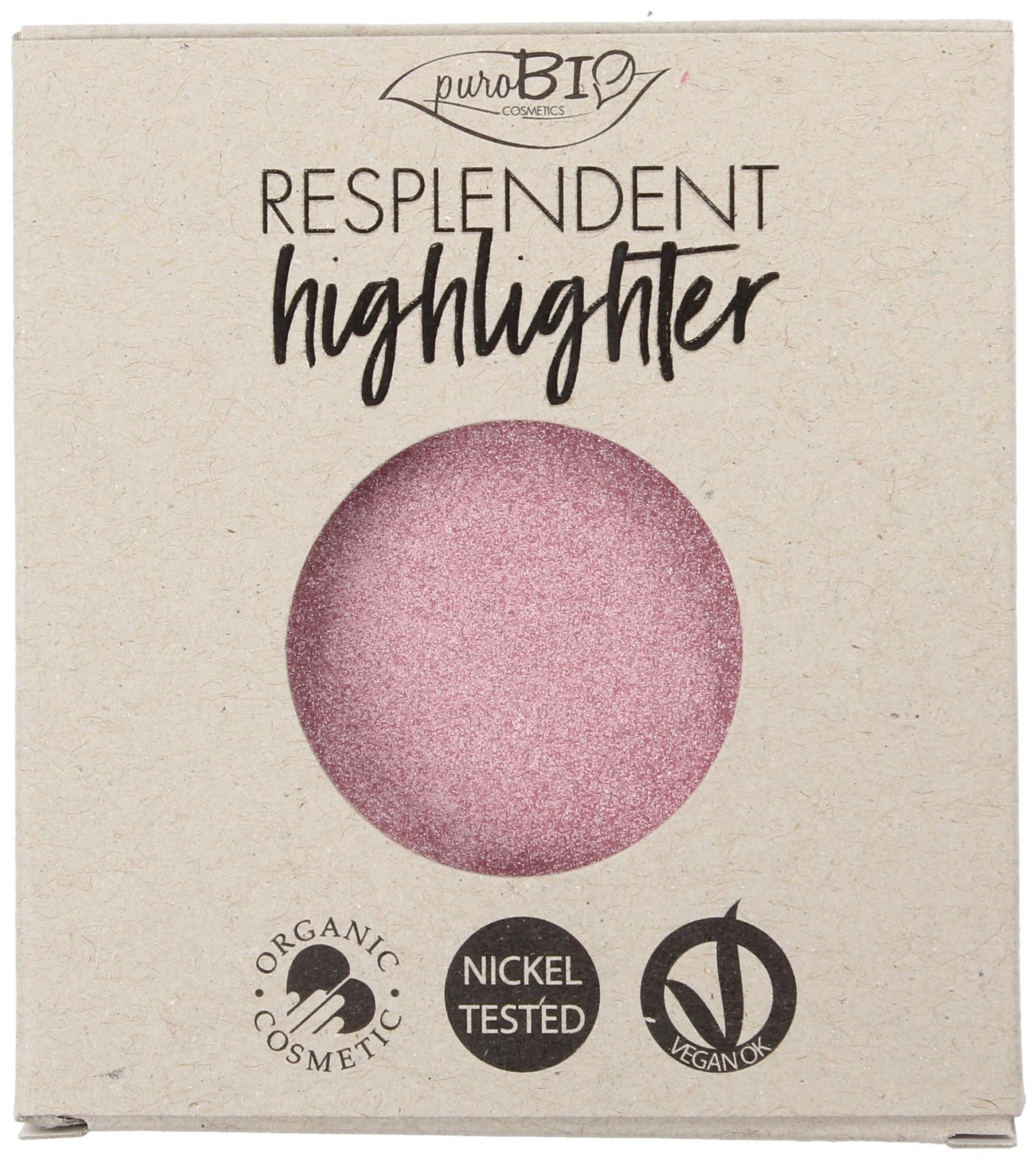 Хайлайтер PuroBio Resplendent Highlighter Refill 02 розовый