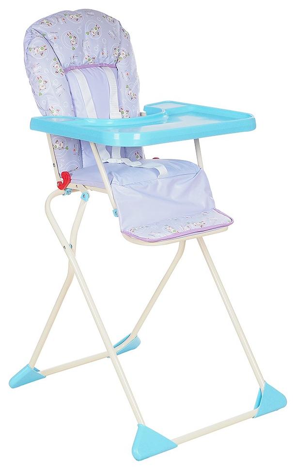 ГЛОБЭКС Стул-стол для кормления КОМПАКТ Фиолетовый 1401