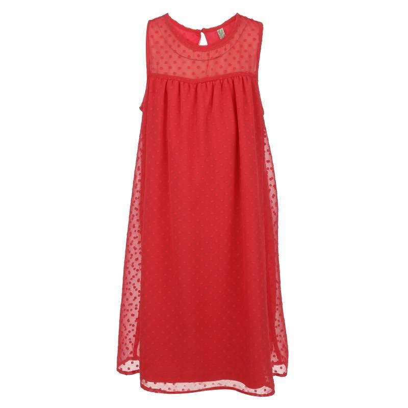 Купить Платье Losan, цв. розовый, 140 р-р, Детские платья и сарафаны