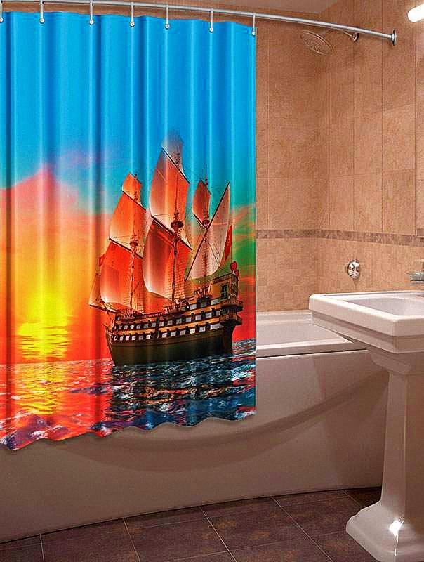 Шторы для ванной КаСЛ Moriah